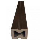 Лага из ДПК универсальная Шоколад 4000х40х30 мм