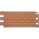 Фасадная панель FineBer Кирпич Бежевый 1130х470 мм