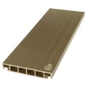 Террасная доска из ДПК Savewood Salix Тик 6000х163х25 мм