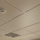 Потолок кассетный Cesal Line 010B Золотистый Жемчуг 595х595 мм