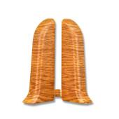 Заглушка ПВХ Line Plast в цвет плинтуса
