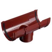 Воронка водосточная ПВХ Docke Premium Гранат 120/85 мм